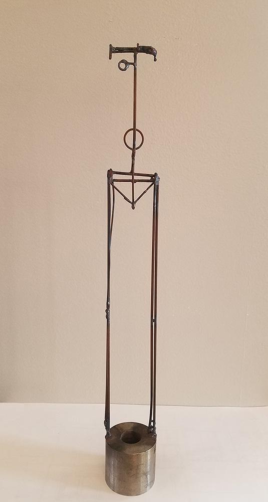 Darrin Hallwell, Bulwark Bun & Heart Sculpture 2000