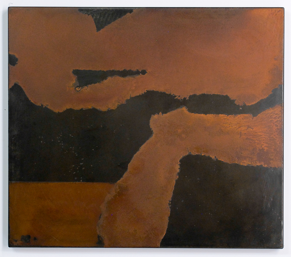Untitled, Iron Angle and River, Darrin Hallowell, Iron Oxide & Steel, 2014, Painting Prints & Drawings, Actuation – Conversion