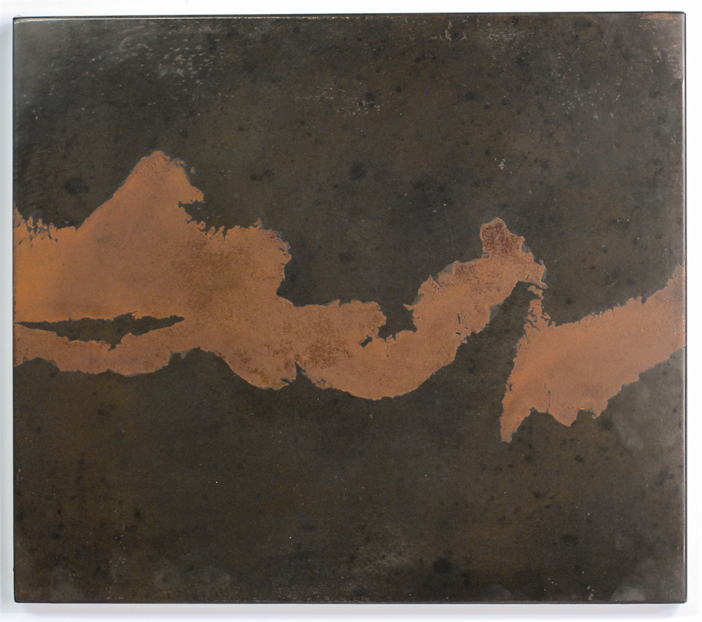 Darrin Hallowell, Untitled (Iron River). 2014. Oxidized steel, Paintings Prints & Drawings, Iron Prints, Actuation - Conversion, Sculpture