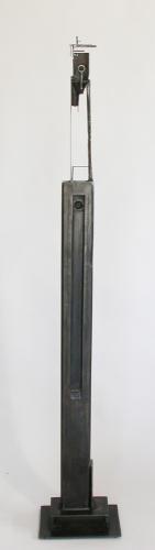 "Bulwark 7D1. 2005. Steel. 65 x 10 x 9"". Darrin Hallowell"
