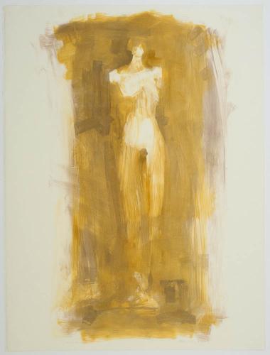 Anima II. 2001. Monotype. 29¾ x 22¼