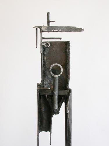 Bulwark 7D1. 2005. Steel. 65 x 10 x 9
