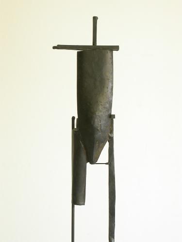 Bulwark (Two Circles). 2007. Steel. 65 x 11 x 8