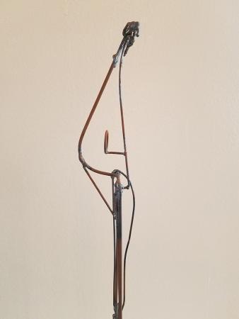 Darrin Hallwell, Bulwark (Heart & Bun) Sculpture Detail, 2000
