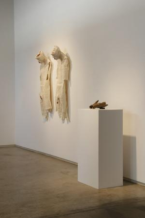 Ariadne's Clew. 2007. View of front gallery His and Hers, Vestige (What you will leave). Darrin Hallowell