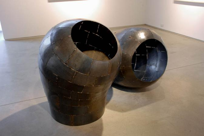 Actuation – Conversion Exhibition, 2014, McCormick Gallery Chicago, Open Vessel Intake 1&2