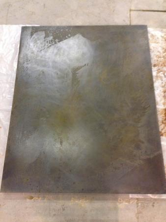 Iron Bloom (Reverse), Darrin Hallowell, 2014, In progress