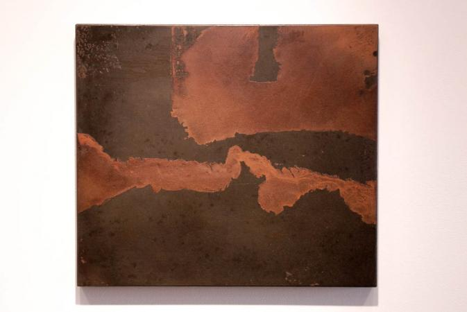 Untitled (River & Delta), view at Actuation - Conversion, McCormick Gallery, Chicago Darrin Hallowell, 2014