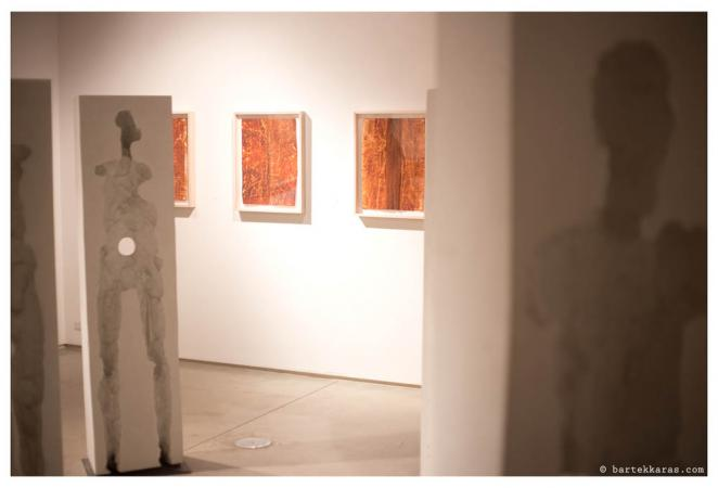 Actuation – Conversion Exhibition, 2014, McCormick Gallery Chicago, View of back Gallery - Points of Influence & Split